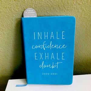 Eccolo Planner 2021 Inhale Confidence Exhale Doubt